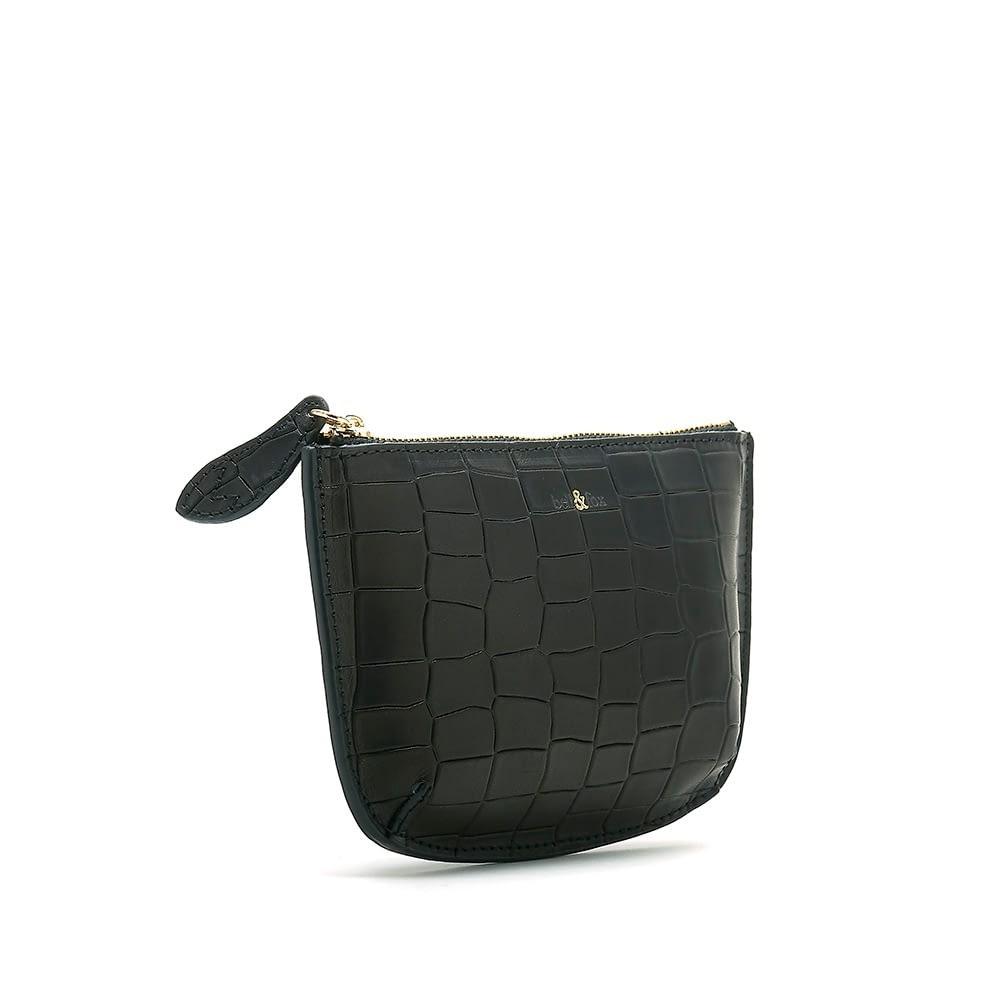 Bell & Fox Faye Mini Pouch in Black Black