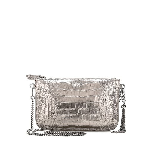 Bell & Fox Ivy Tassel Pouch/ Crossbody Bag Metallic