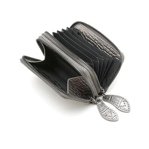 Bell & Fox Ava Mini Purse in Pewter Metallic