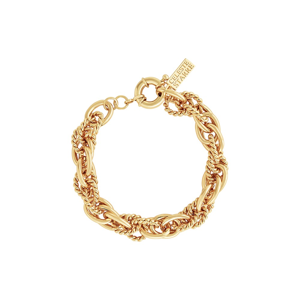Celeste Starre Manhattan Bracelet Gold
