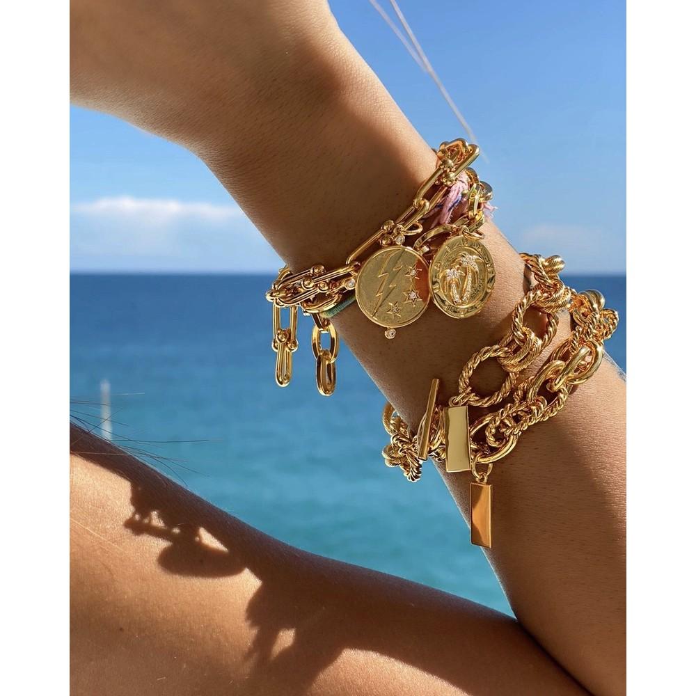 Celeste Starre Miami Bracelet Gold