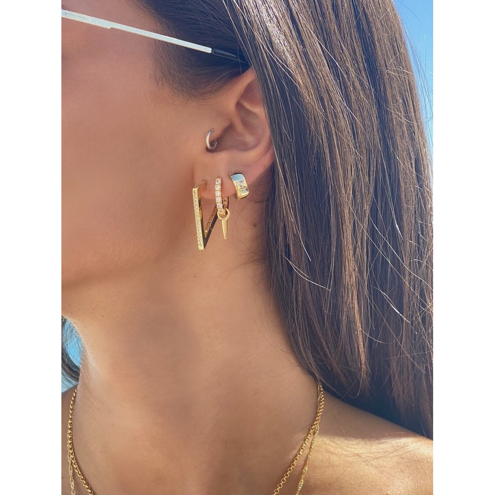 Celeste Starre Ibiza Earrings Gold