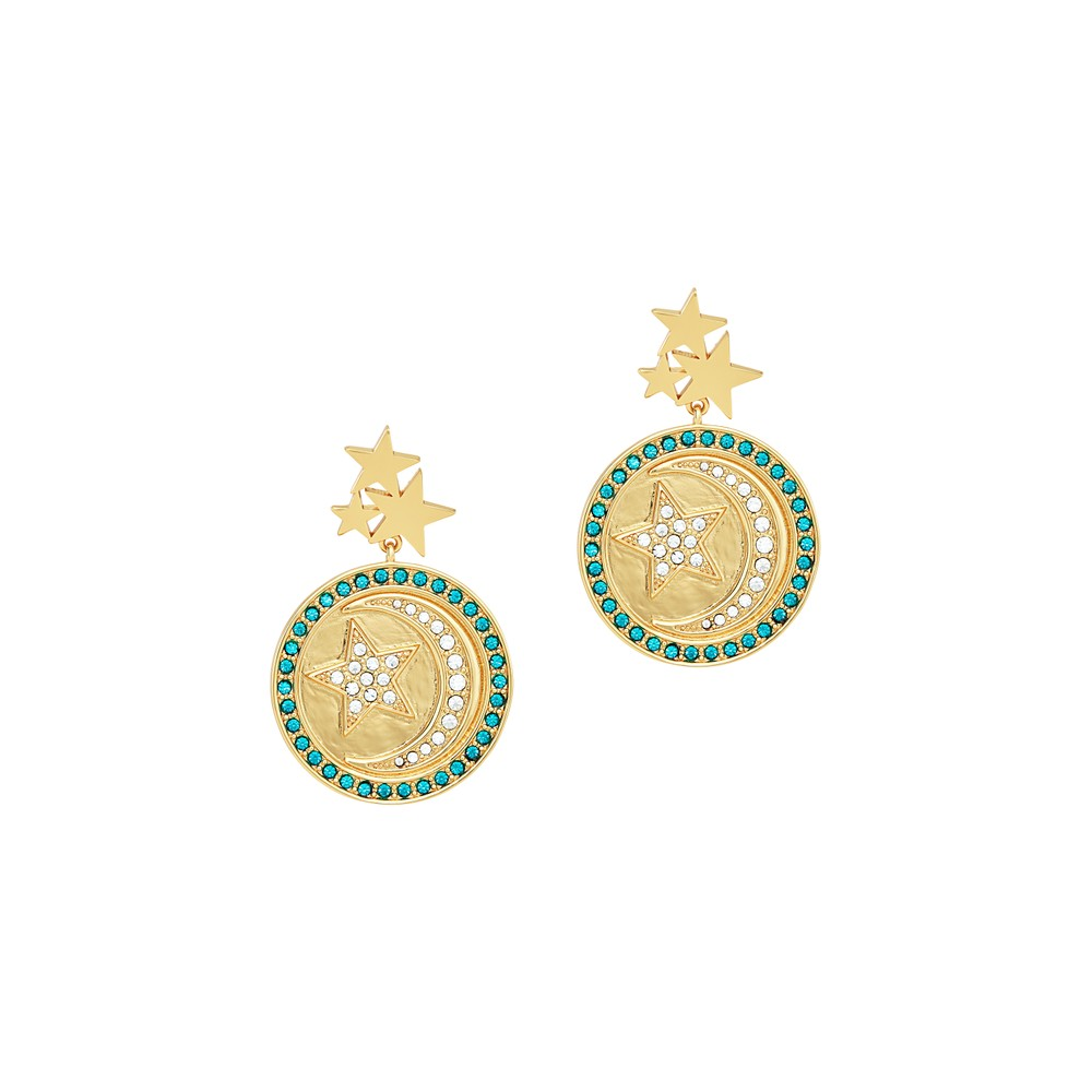 Celeste Starre Maldives Earrings Gold