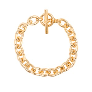 Tilly Sveaas Small Gold Round Linked Bracelet
