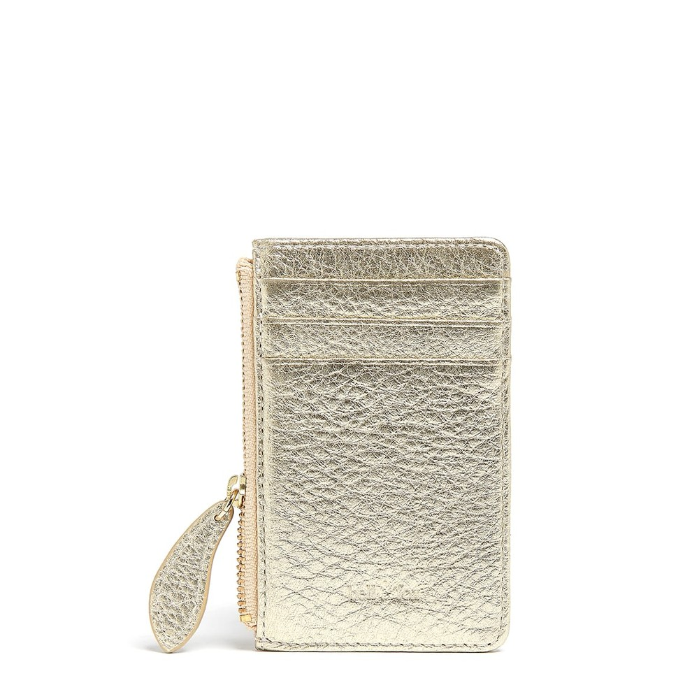 Bell & Fox Lia Credit Card Holder in Gold Gold