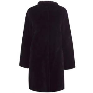 Velvet Mina Coat in Black