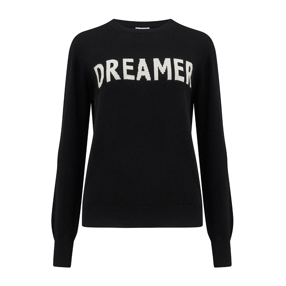 KatieAndJo Dreamer Cashmere Jumper Black
