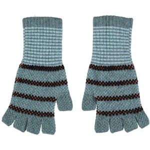 Quinton Chadwick Fingerless Gloves in Caspian