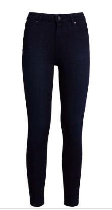 Paige High Rise Muse Jeans Dark Denim