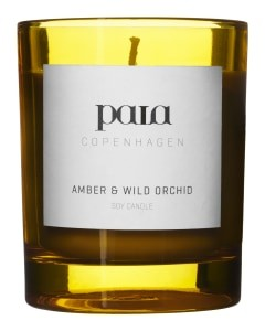 Paia Copenhagen Amber and Wild Orchid Large Candle None