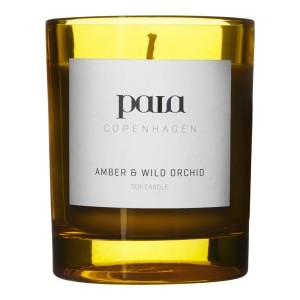 Paia Copenhagen  Amber and Wild Orchid Large Candle