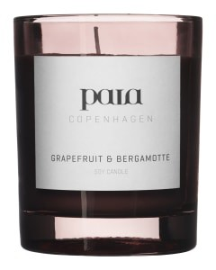 Paia Copenhagen Grapefruit and Bergamotte Large Candle None