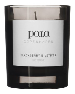 Paia Copenhagen Blackberry and Vetiver Large Candle None