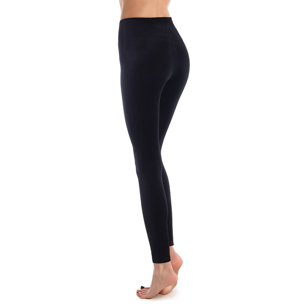 Commando  Velvet Leggings in Black Black