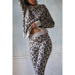 Ragdoll LA Cashmere Leopard Joggers