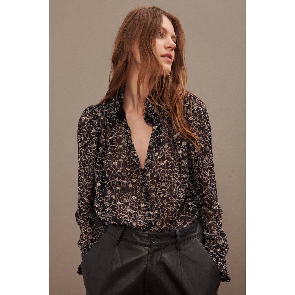 Ba&sh Amelia Shirt Black