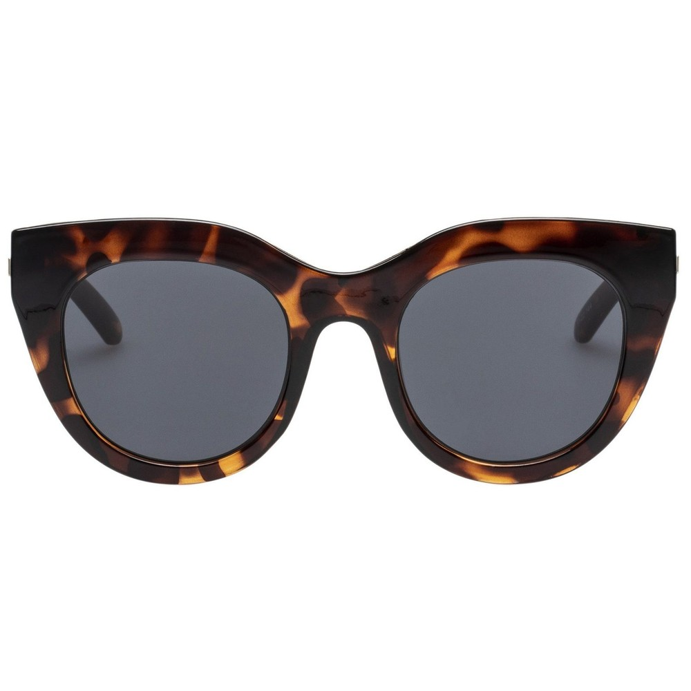 Le Specs Air Heart in Tort Brown