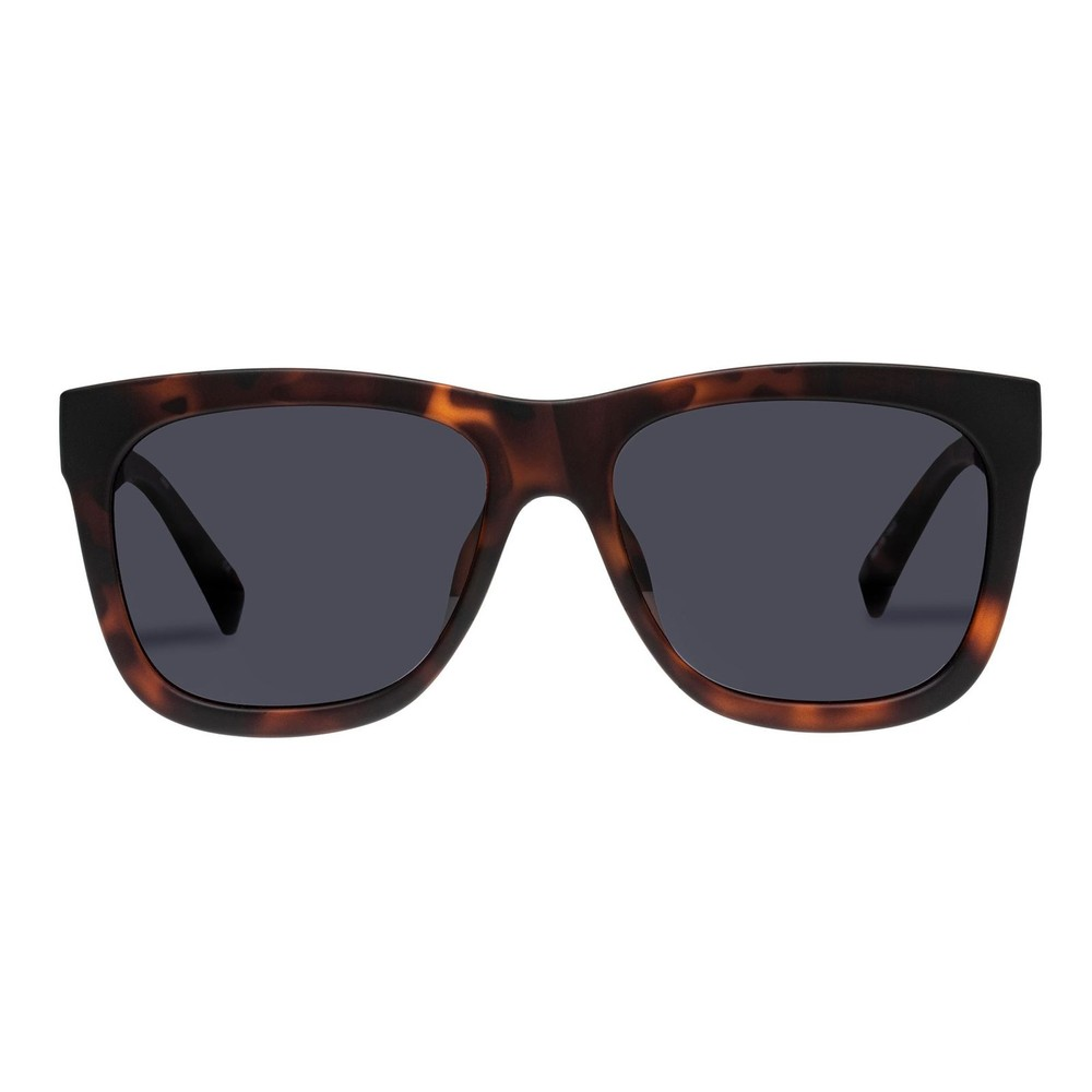 Le Specs High Hopes Sunglasses in Matte Tort Brown