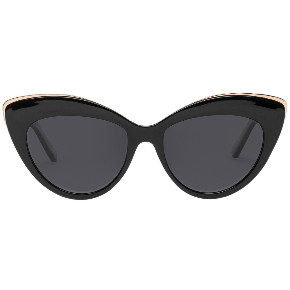 Le Specs Beautiful Stranger Sunglasses in Black Black