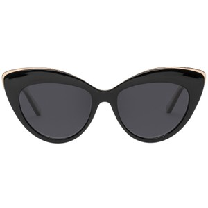 Le Specs Beautiful Stranger Sunglasses in Black