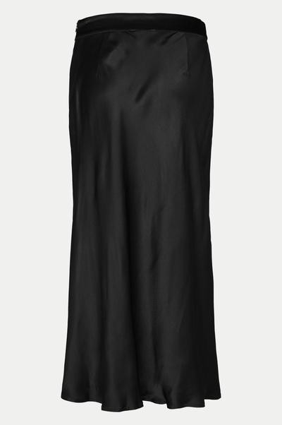 Second Female Eddy Midi Skirt Black