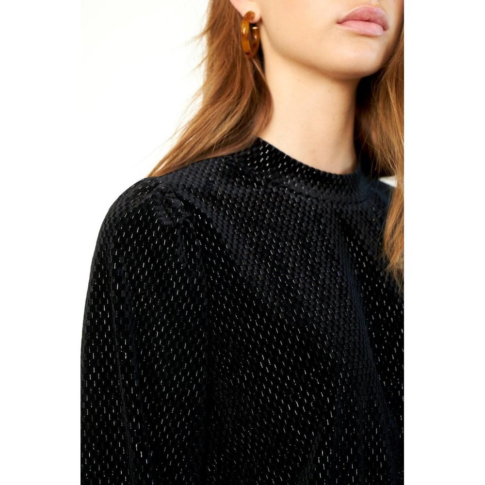 Second Female Nancy Sweater in Black Black