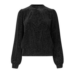 Second Female Nancy Sweater in Black