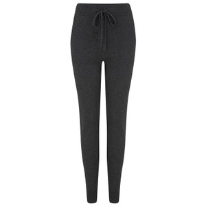 KatieAndJo Cashmere Fitted Joggers in Charcoal