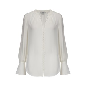 Joie Tariana Blouse in Porcelain