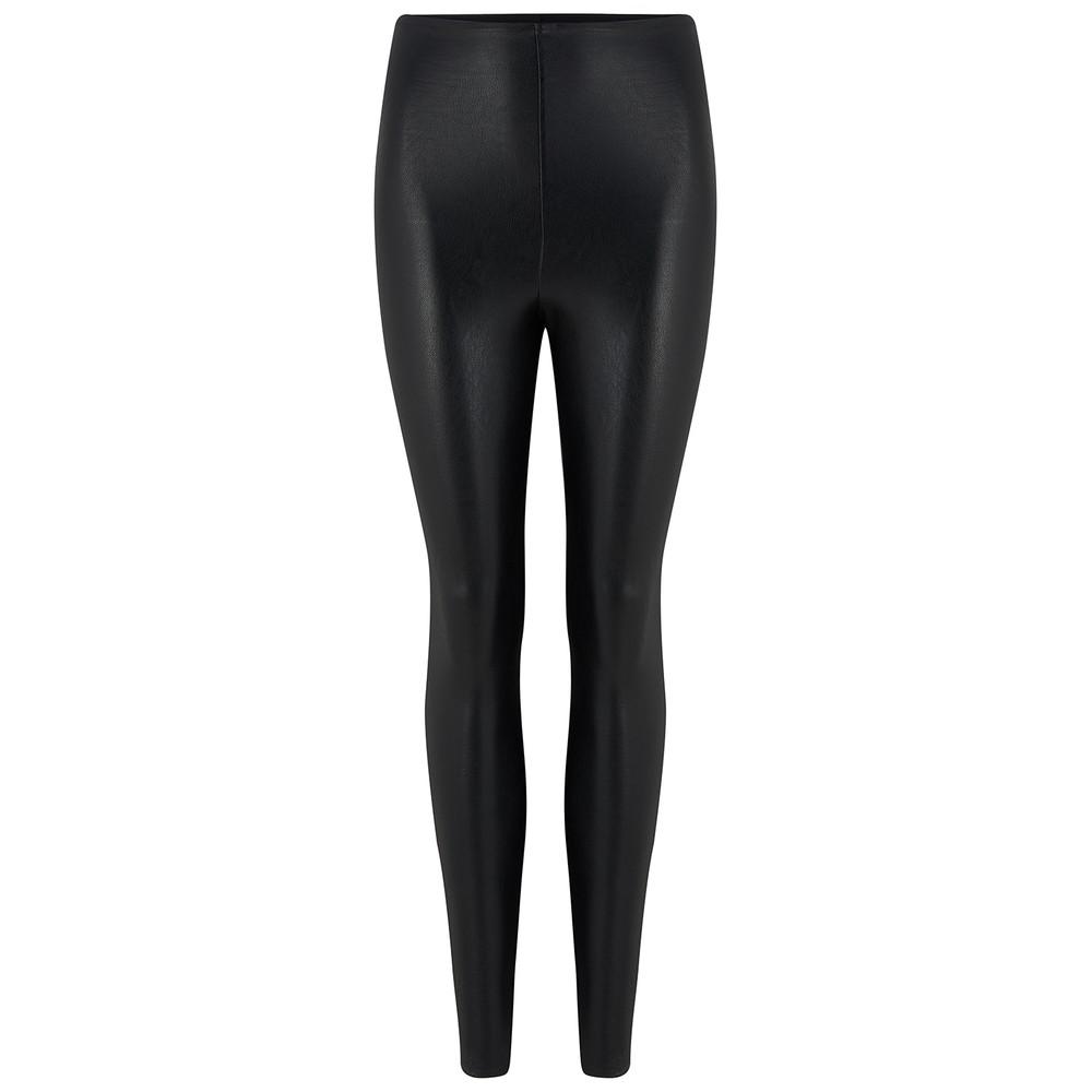 Commando  Faux Leather Leggings in Black Black