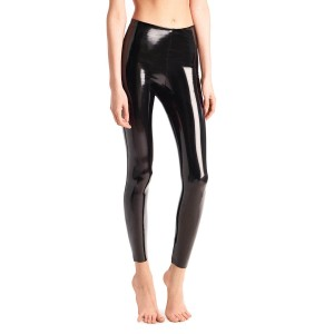 Commando  Faux Patent Leggings in Black