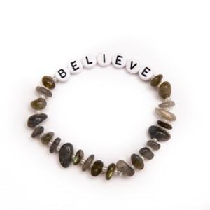 TBalance Believe Crystal Healing Bracelet