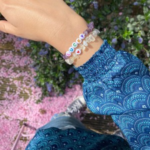 TBalance Lucky Multi Crystal Healing Bracelet