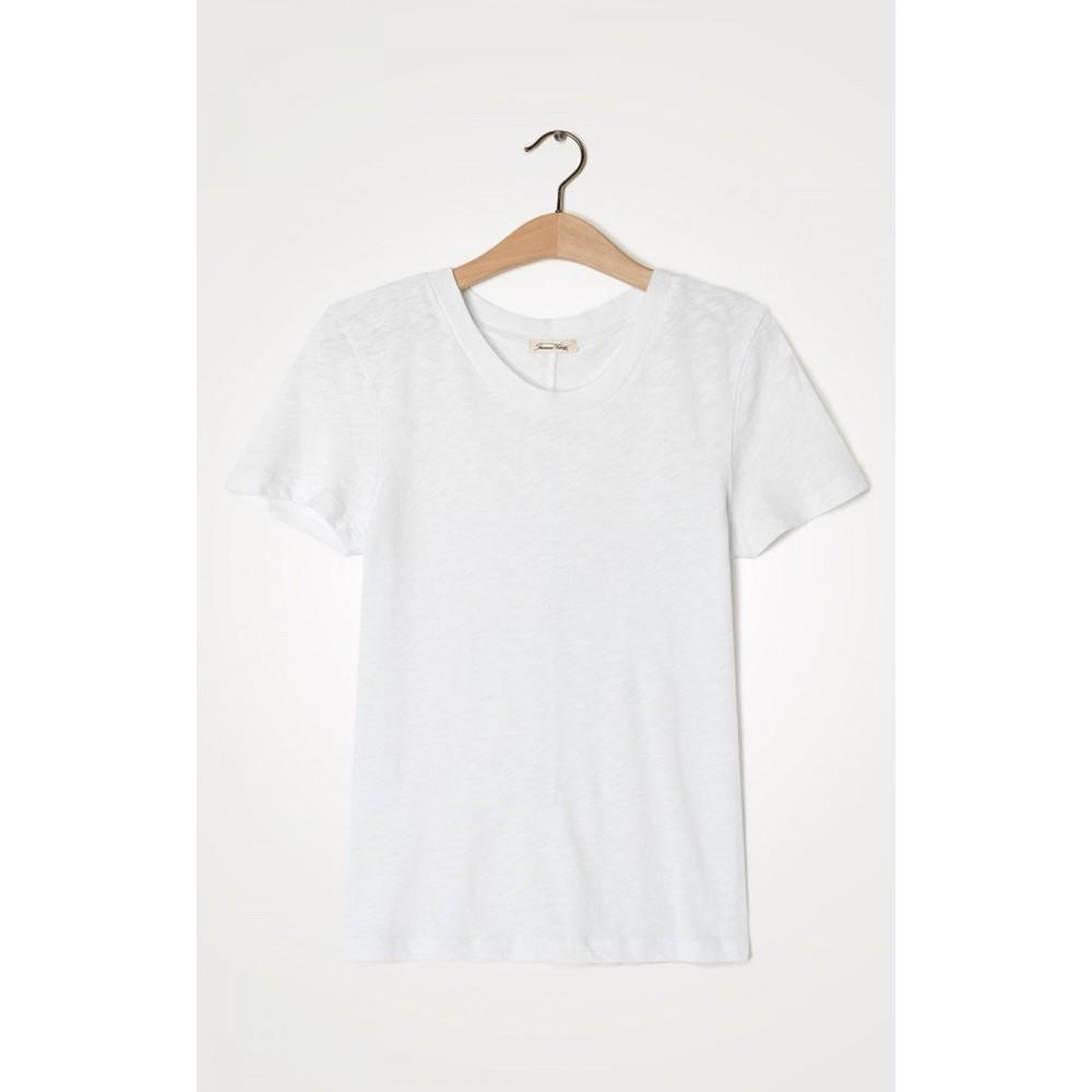 American Vintage Sonoma Short Sleeved T-Shirt in White White