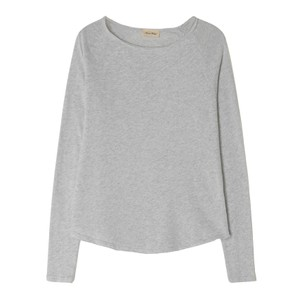 American Vintage Sonoma Long Sleeve T-Shirt in Arctic Chine