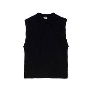 An'ge  Lemado Sleeveless Sweater in Navy