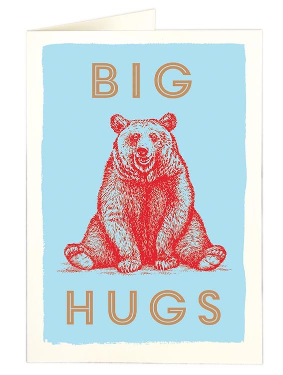 Archivist Big Hugs Card None