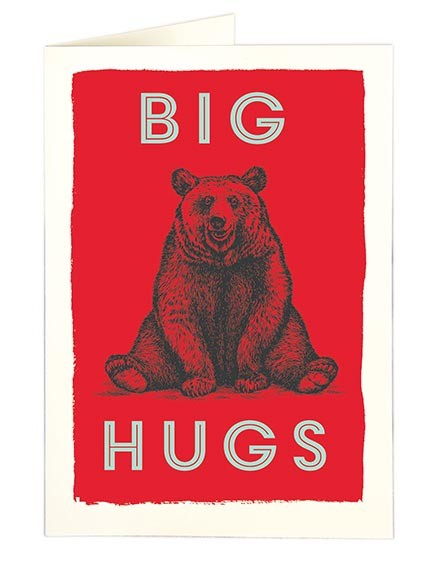 Archivist Big Hugs A5 Cards - Pack of 5 None