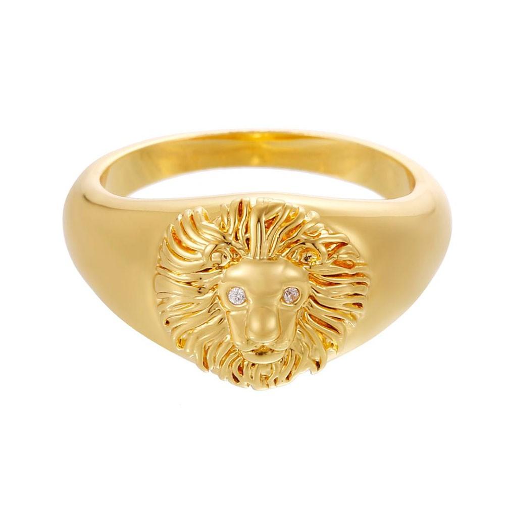 Celeste Starre Venetian Queen Ring Gold