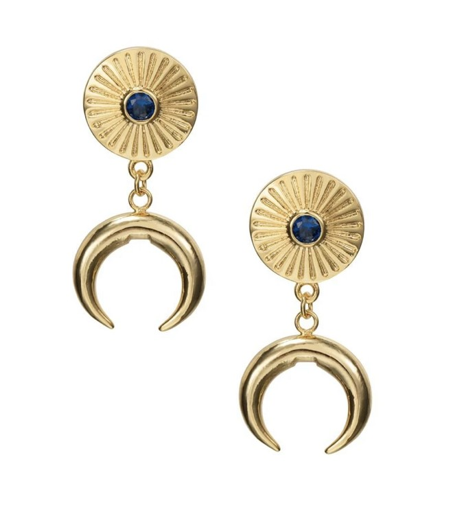 Celeste Starre Grecian Nights Earrings Gold
