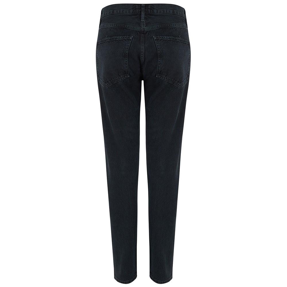 Agolde Jamie High Rise Classic Jeans Black
