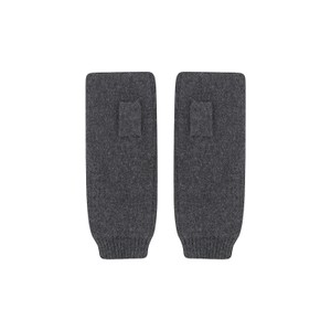 KatieAndJo Fingerless Cashmere Gloves in Charcoal
