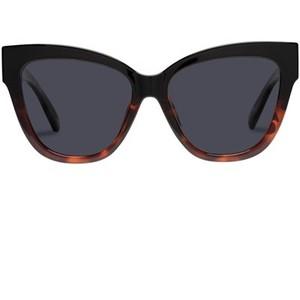 Le Specs Le Vacanze Sunglasses in Black Tort Splice/ Gold