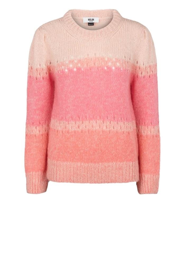Moliin Eliza Jumper in Aurora Pink Pale Pink