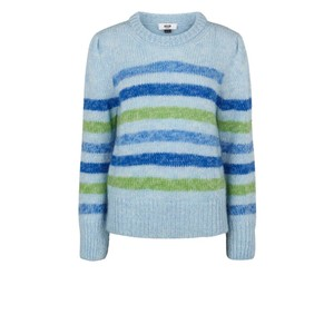 Moliin Charlie Jumper in Pink in Blue
