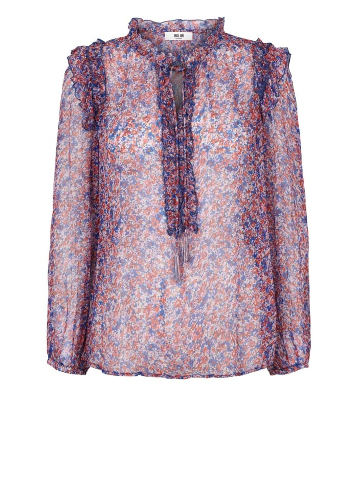 Moliin Alice Blouse Blue