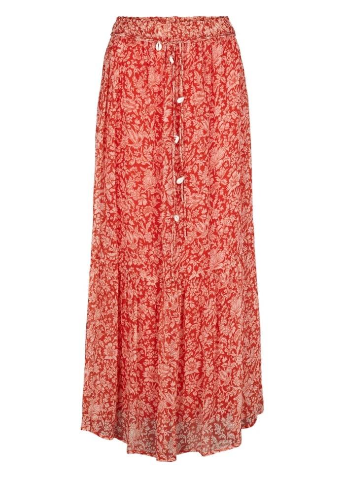 Moliin Eilena Skirt in Valient Poppy Red