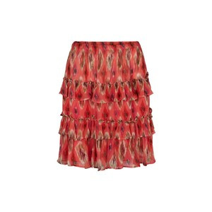Moliin Birthe Skirt in Calypso Coral