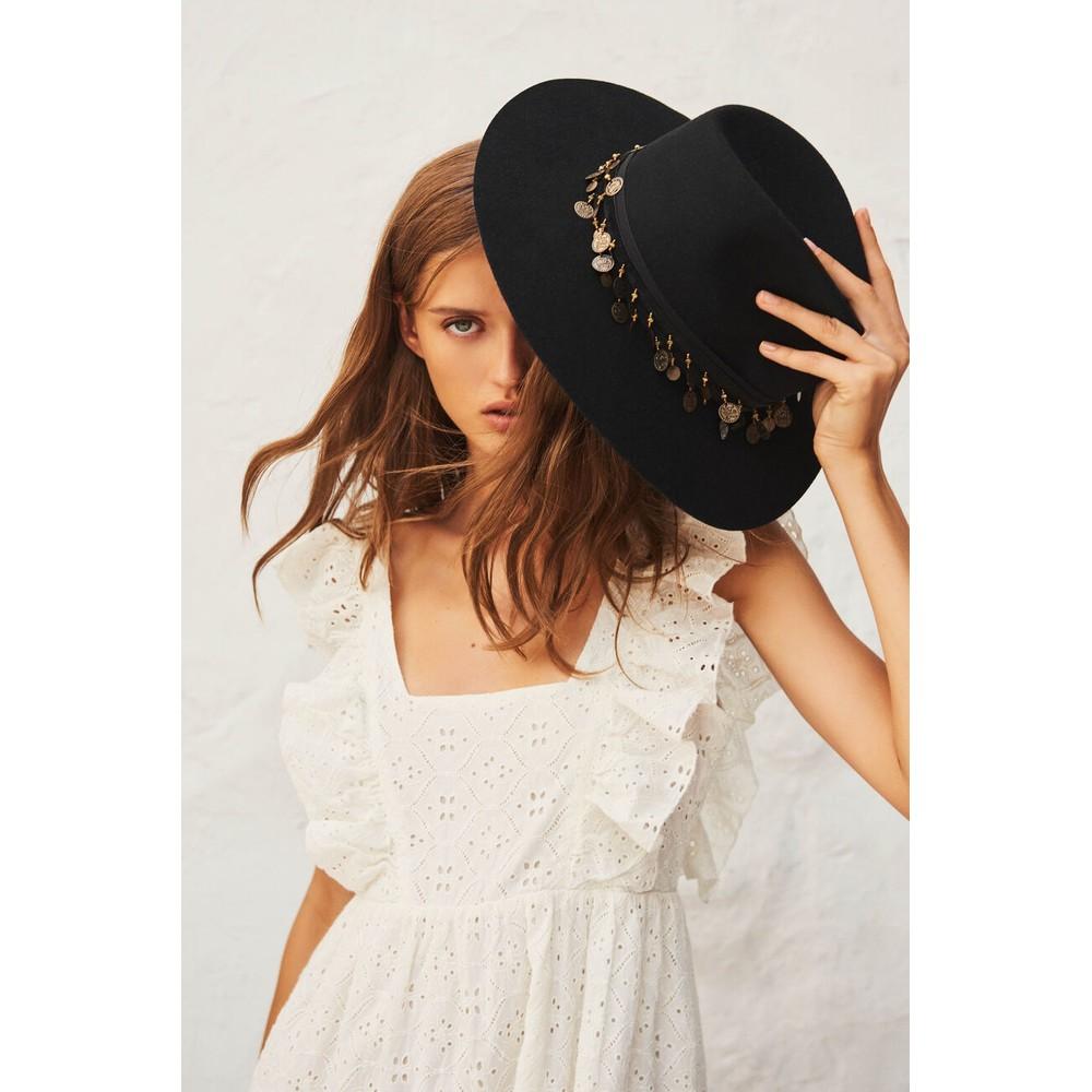 Ba&sh Byrd Dress in Ecru White