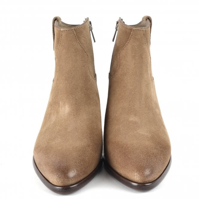 Ash Houston Boots in Brushed Wilde Suede Beige